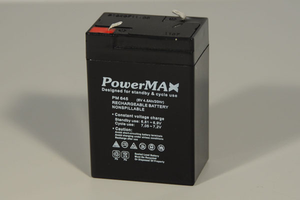 Akumulator 4,5Ah/6V - PowerMax